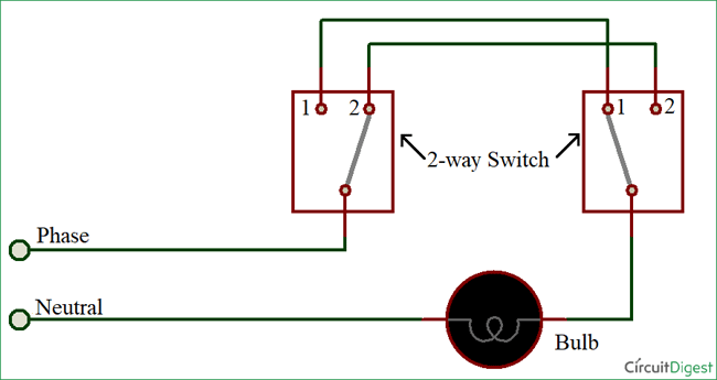 Remarkable Wiring Diagram Two Way Switch Basic Electronics Wiring Diagram Ranpur Mohammedshrine Wiring Digital Resources Ranpurmohammedshrineorg
