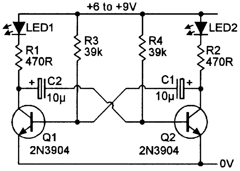 Brilliant Practical Led Indicator And Flasher Circuits Nuts Volts Magazine Ranpur Mohammedshrine Wiring Digital Resources Ranpurmohammedshrineorg