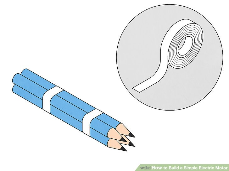 Magnificent How To Build A Simple Electric Motor 10 Steps With Pictures Ranpur Mohammedshrine Wiring Digital Resources Ranpurmohammedshrineorg