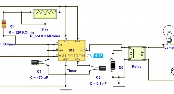 Awesome Adjustable Timer Circuit Diagram With Relay Output Ranpur Mohammedshrine Wiring Digital Resources Ranpurmohammedshrineorg