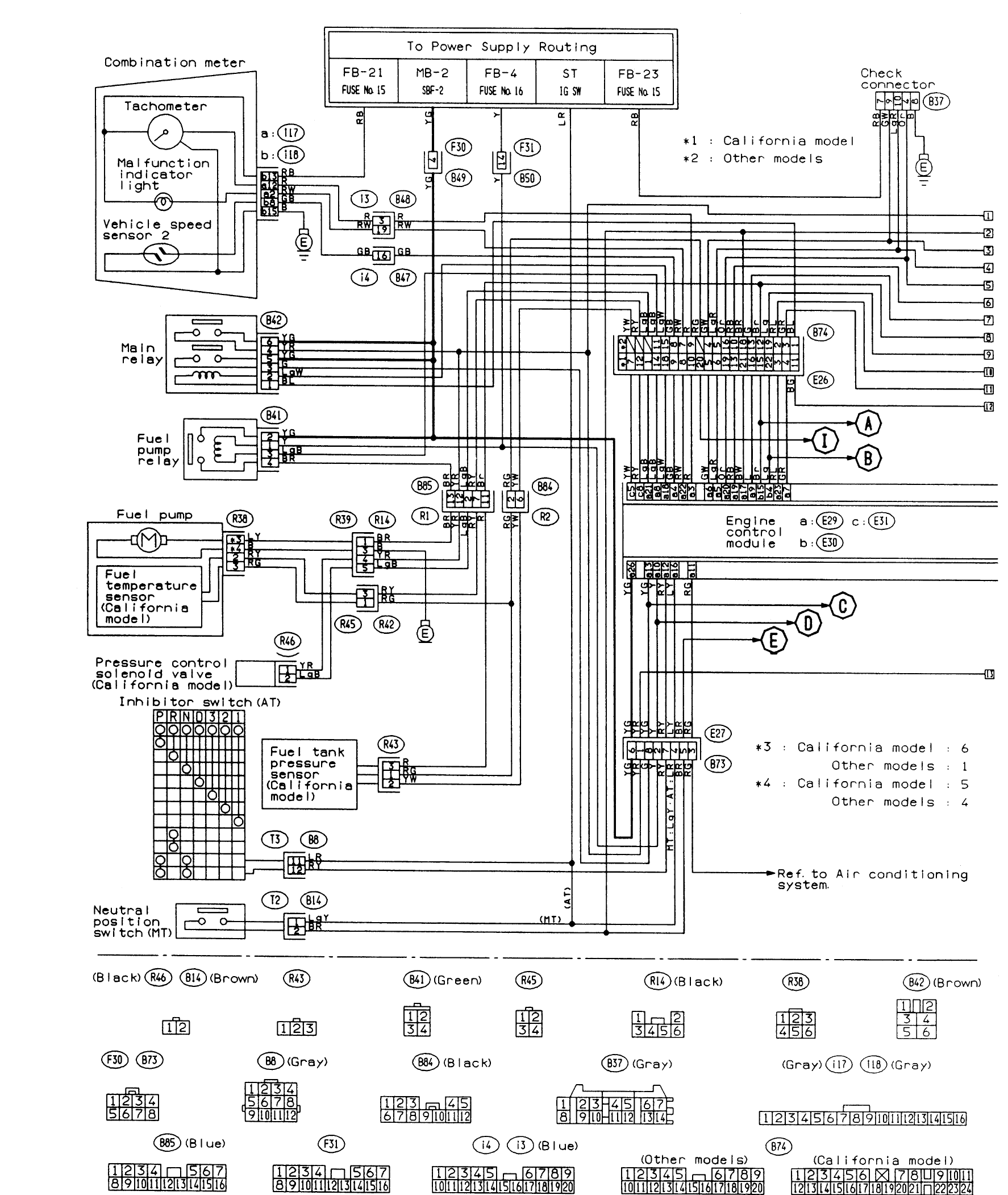 Superb Electrical Diagram For Ac Unit In 2009 Subaru Forester Pinouts For Ranpur Mohammedshrine Wiring Digital Resources Ranpurmohammedshrineorg