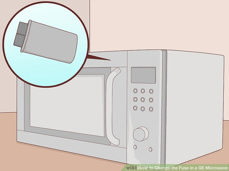 Brilliant How To Change The Fuse In A Ge Microwave With Pictures Wikihow Ranpur Mohammedshrine Wiring Digital Resources Ranpurmohammedshrineorg