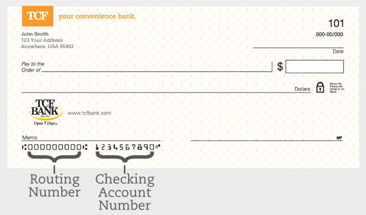 Fantastic Tcf Bank Routing Number And Wiring Instructions Online Banking Ranpur Mohammedshrine Wiring Digital Resources Ranpurmohammedshrineorg
