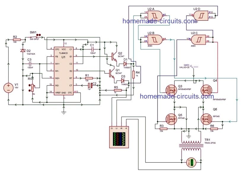 Outstanding Pwm Inverter Circuit Using Ic Tl494 Technologie In 2019 Circuit Ranpur Mohammedshrine Wiring Digital Resources Ranpurmohammedshrineorg
