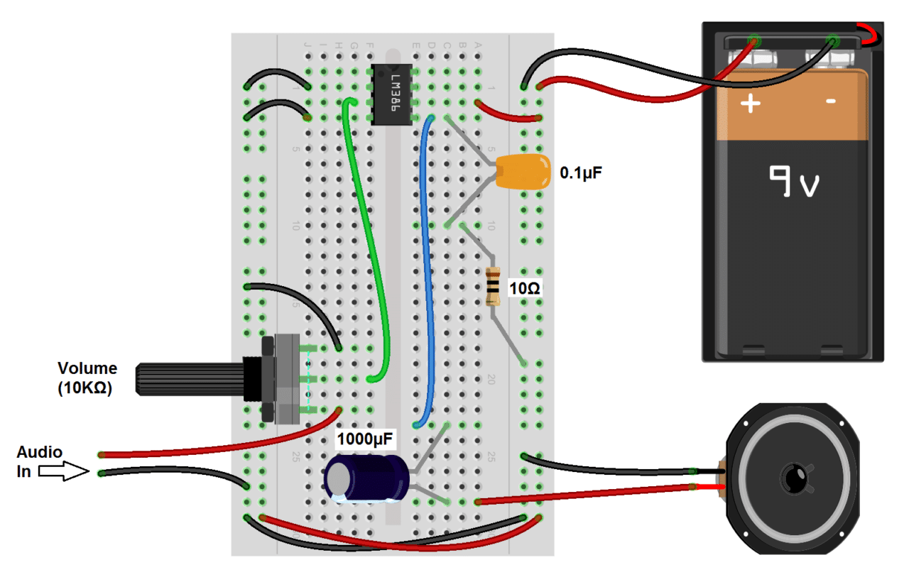 Miraculous Build A Great Sounding Audio Amplifier With Bass Boost From The Lm386 Ranpur Mohammedshrine Wiring Digital Resources Ranpurmohammedshrineorg