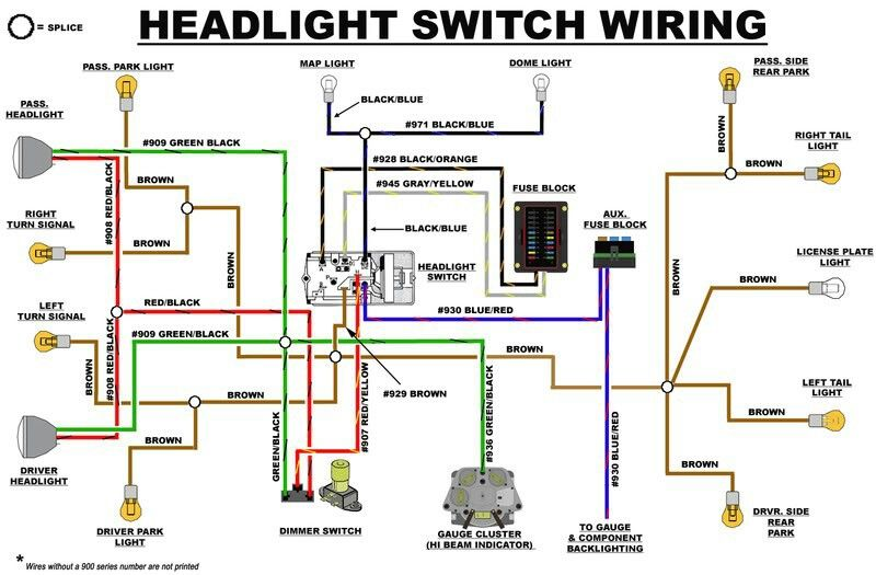 Incredible Eb Headlight Switch Wiring Diagram Early Bronco Build List Ranpur Mohammedshrine Wiring Digital Resources Ranpurmohammedshrineorg