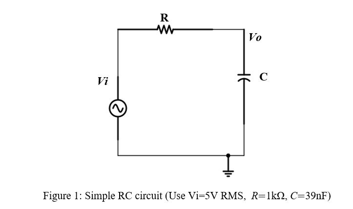Cool Solved 1 Analyze The Rc Circuit Shown In Figure 1 A Ex Ranpur Mohammedshrine Wiring Digital Resources Ranpurmohammedshrineorg