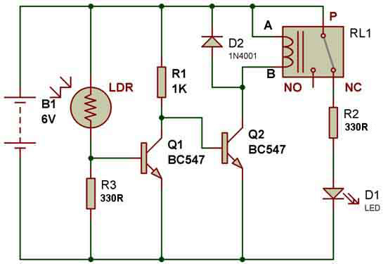 Enjoyable How To Use A Relay Buildcircuit Electronics Ranpur Mohammedshrine Wiring Digital Resources Ranpurmohammedshrineorg