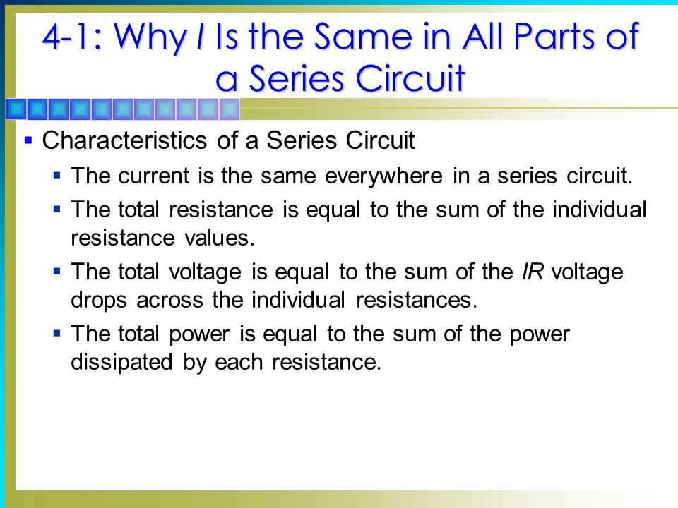 Wondrous 4 Series Circuits Chapter Topics Covered In Chapter 4 Ppt Download Ranpur Mohammedshrine Wiring Digital Resources Ranpurmohammedshrineorg