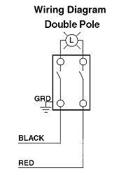 Fabulous How To Wire A Double Pole Switch Diagram Basic Electronics Wiring Ranpur Mohammedshrine Wiring Digital Resources Ranpurmohammedshrineorg