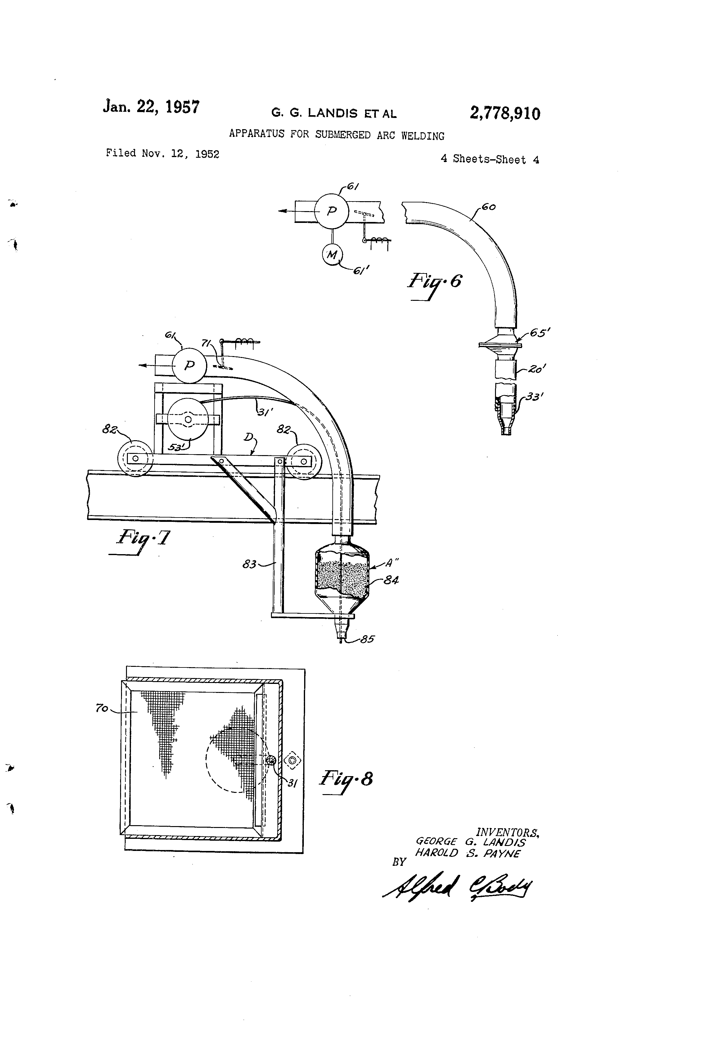 Fabulous Us2778910A Apparatus For Submerged Arc Welding Google Patents Ranpur Mohammedshrine Wiring Digital Resources Ranpurmohammedshrineorg